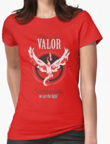 Team Valor Pokèmon GO! Womens Fitted T-Shirt