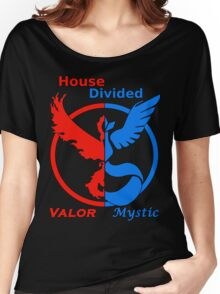 House Divided Valor vs. Mystic Women's Relaxed Fit T-Shirt