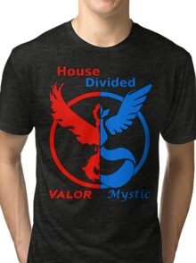 House Divided Valor vs. Mystic Tri-blend T-Shirt