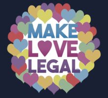 Make Love Legal – LGBTQ* pride and advocacy One Piece - Short Sleeve