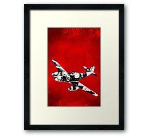 Messerschmitt Me 262 Jet Fighter from WW2 Framed Print