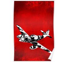 Messerschmitt Me 262 Jet Fighter from WW2 Poster