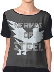 Nerves of Steel Chiffon Top