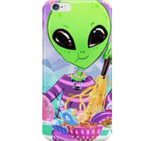 Yummy Alien Food! iPhone Case/Skin