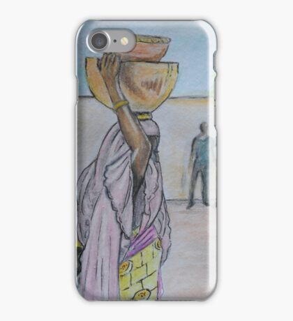 Mama Carries Calabash iPhone Case/Skin