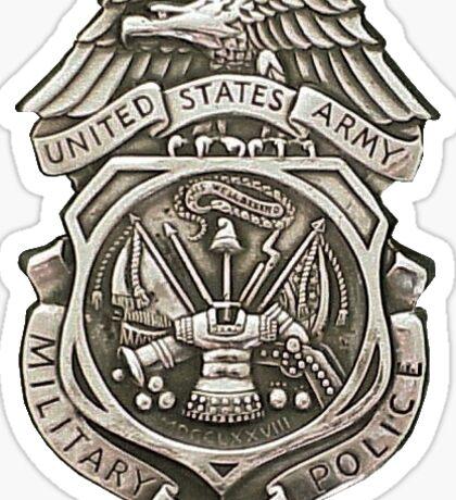 Military Police Sticker