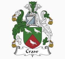 Craw Coat of Arms / Craw Family Crest by ScotlandForever
