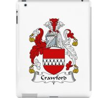 Crawford Coat of Arms / Crawford Family Crest iPad Case/Skin