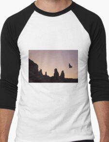 Condor Flight at Twilight Men's Baseball ¾ T-Shirt