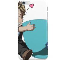 Patrick Jane and his cup of Tea iPhone Case/Skin