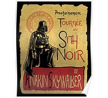 Tournee du Sith Noir Poster