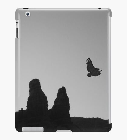 Twilight Flight BW iPad Case/Skin