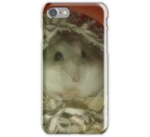 Grey the Hamster iPhone Case/Skin