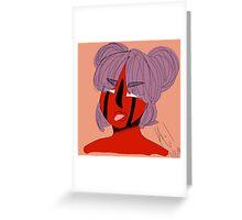 Bashi- Rude & Sassy Greeting Card