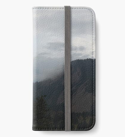 Colorado Mountain and Clouds iPhone Wallet/Case/Skin