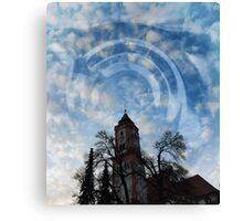 Krumbach's way to heaven Canvas Print