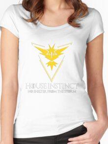 House Instinct v2 (GOT + Pokemon GO) Women's Fitted Scoop T-Shirt