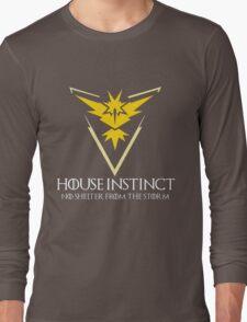 House Instinct v2 (GOT + Pokemon GO) Long Sleeve T-Shirt