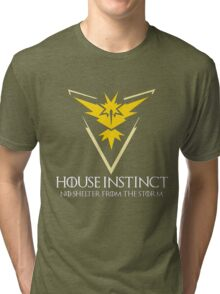 House Instinct v2 (GOT + Pokemon GO) Tri-blend T-Shirt