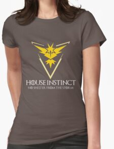 House Instinct v2 (GOT + Pokemon GO) Womens Fitted T-Shirt