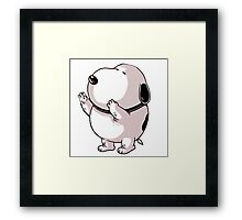The Fat Snoopy Framed Print
