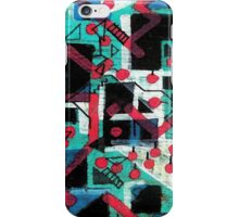 Abstract - Shark Attack iPhone Case/Skin