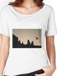 Twilight Flight Toned Women's Relaxed Fit T-Shirt
