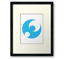 Pokémon Moon Logo Framed Print