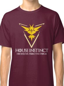 House Instinct v2 (GOT + Pokemon GO) white Classic T-Shirt