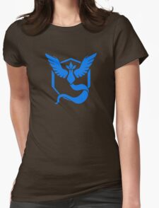 Pokemon Go faction: Mystic Womens Fitted T-Shirt