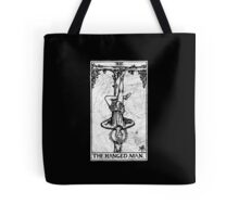 The Hanged Man Tarot Card - Major Arcana - fortune telling - occult Tote Bag