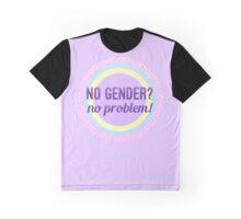 No Gender? No Problem – Non-Binary LGBTQ* Graphic T-Shirt