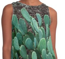 Layers of Green Contrast Tank