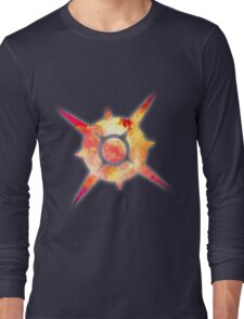 Pokémon Sun Logo Space Long Sleeve T-Shirt