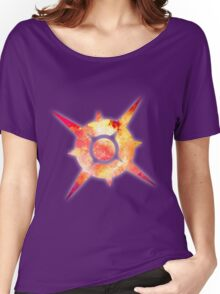 Pokémon Sun Logo Space Women's Relaxed Fit T-Shirt