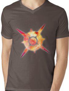 Pokémon Sun Logo Space Mens V-Neck T-Shirt