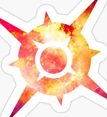 Pokémon Sun Logo Space Sticker