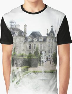 Chateau Print Graphic T-Shirt
