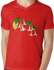 Angel's Trumpet Mens V-Neck T-Shirt