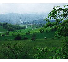 Countryside Landscape Print Photographic Print
