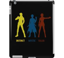 pokemon go team leaders iPad Case/Skin