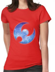 Pokémon Moon Logo Space Womens Fitted T-Shirt