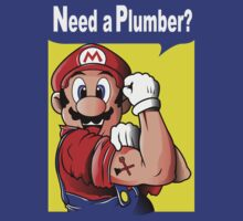 NEED A PLUMBER? MARIO VERSION by Fernando Sala