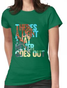 There's a light that never goes out ver.2  Womens Fitted T-Shirt