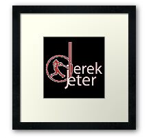 The Legend Of Derek Jeter Framed Print