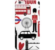 Travel London - Vintage Travel Poster iPhone Case/Skin