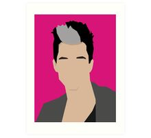 Russell Kane Vector Artwork Art Print