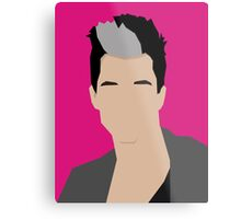 Russell Kane Vector Artwork Metal Print