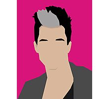 Russell Kane Vector Artwork Photographic Print