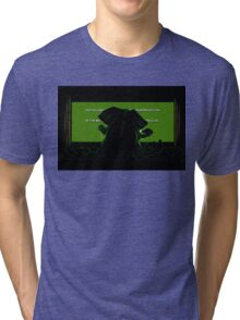Down in front Tri-blend T-Shirt